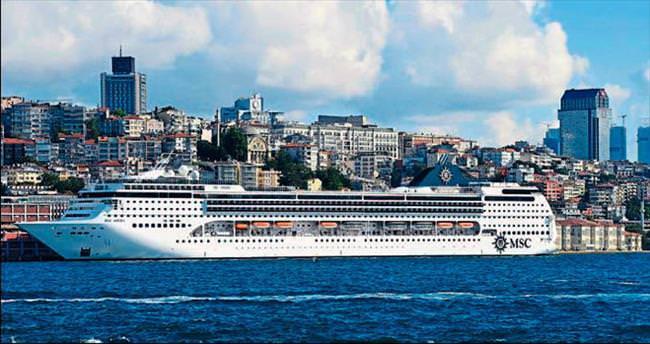 MSC OPERA İstanbul'da