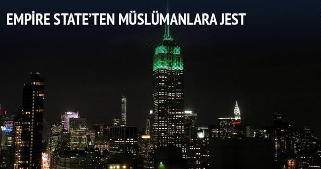 Empire State'ten Müslümanlara jest