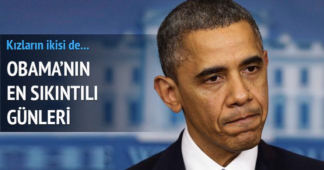 Obama çok üzgün: İki kızı da...