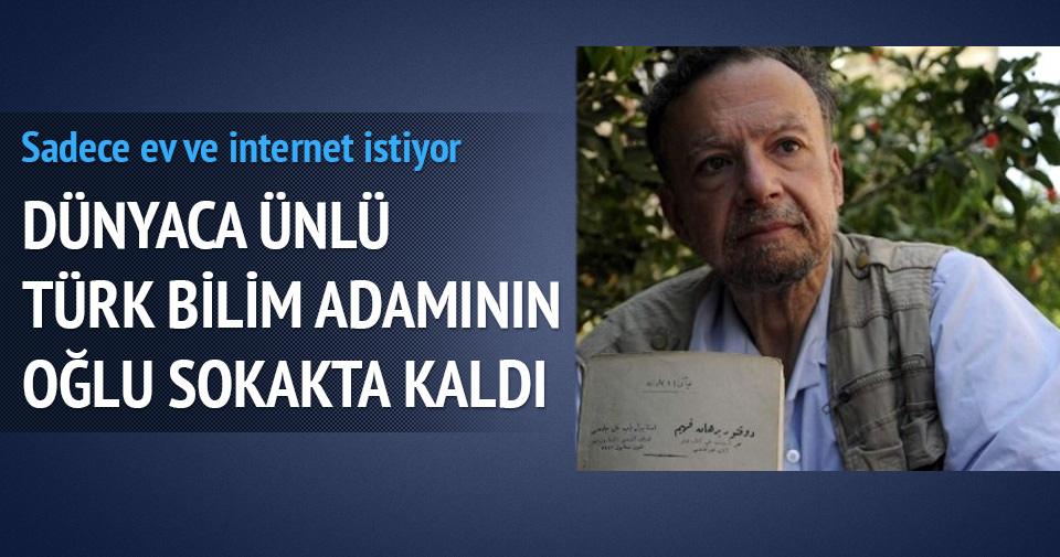Ünlü Türk bilim adamı Feza Gürsey'in oğlu sokakta kaldı