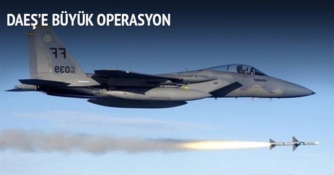 Koalisyon güçlerinden DAEŞ'e 25 yeni hava saldırısı