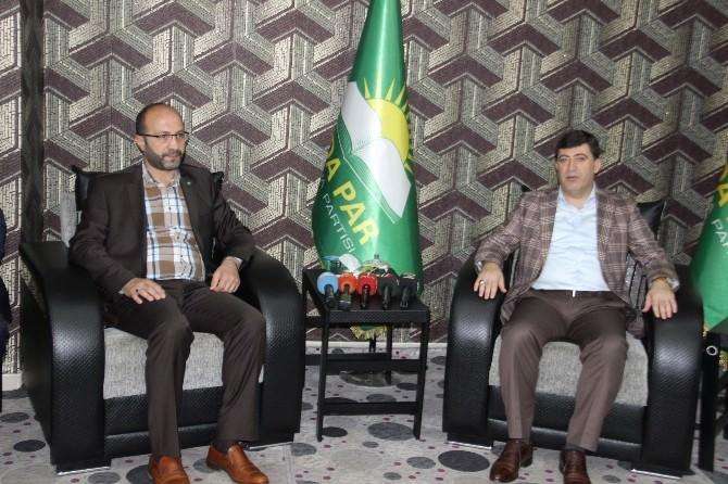 AK Parti'den HÜDA-PAR'a Bayram Ziyareti