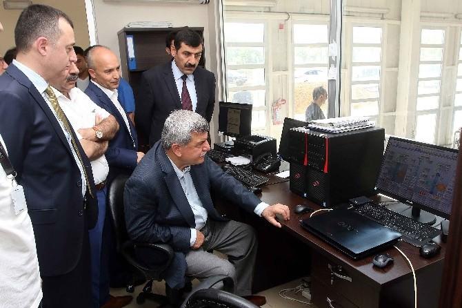 Başkan Karaosmanoğlu, Hes'i İnceledi