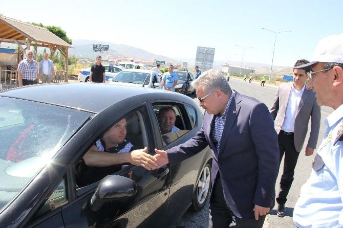 Erzincan Valisinden Araç Sürücülerine Bayram Denetimi