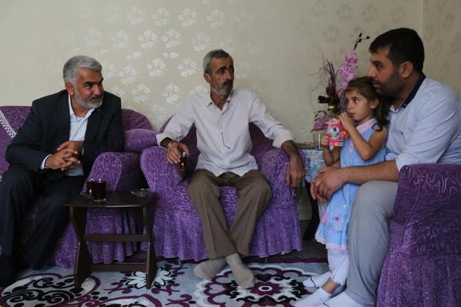 Yapıcıoğlu'ndan Baran Ve Yasin Börü'nün Ailelerine Bayram Ziyareti