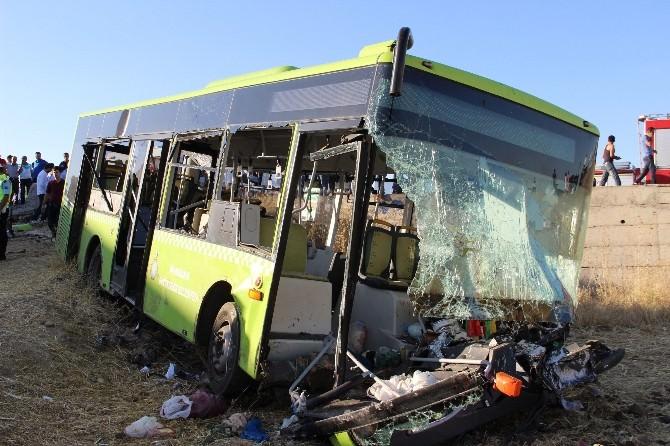 Diyarbakır'da Kaza: 20'nin Üzerinde Yaralı