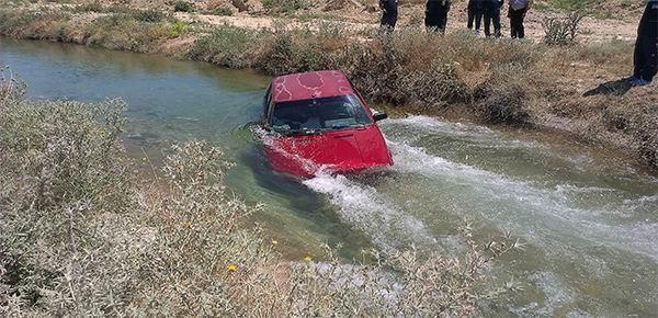 Otomobil Sulama Kanalı Düştü: 3 Yaralı