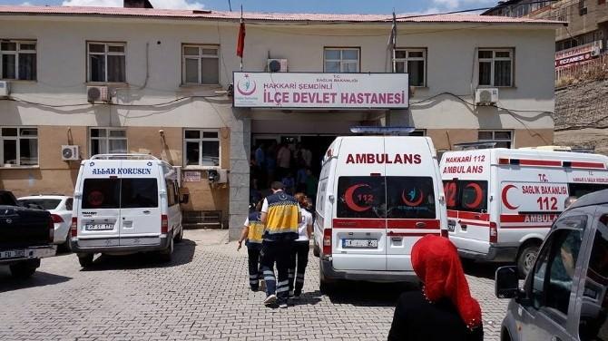 Şemdinli'de Meydana Gelen Kazada 1 Kişi Öldü