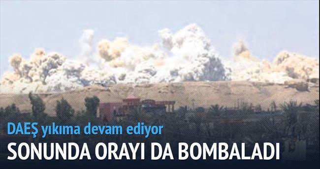 DAEŞ olimpiyat stadını bombaladı