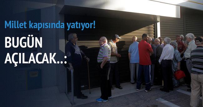 Günler sonra bankalar açılıyor!
