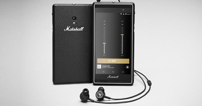 Marshall'dan müzik tutkunlarına özel akıllı telefon