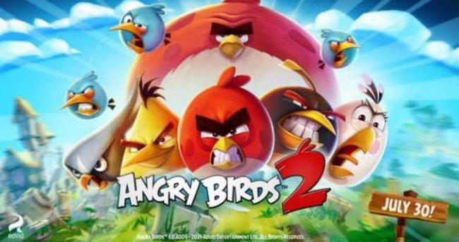 Angry Birds 2 geliyor