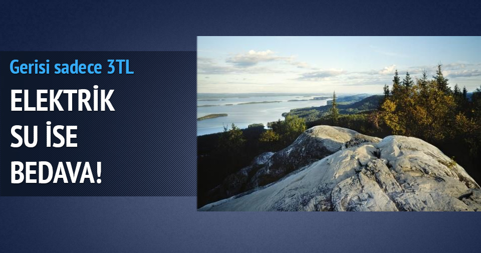 Finlandiya'da sudan ucuz arsalar