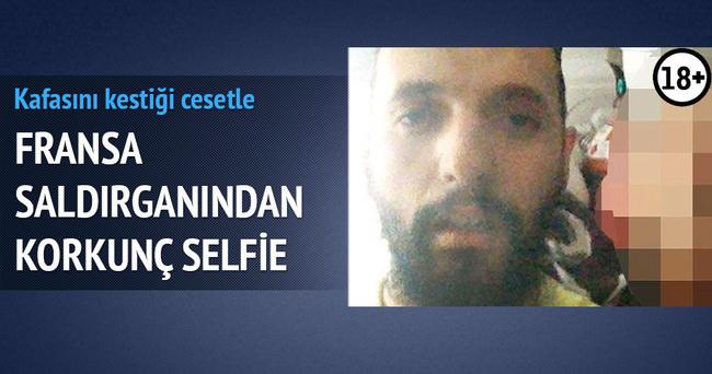 Fransa saldırganından korkunç selfie