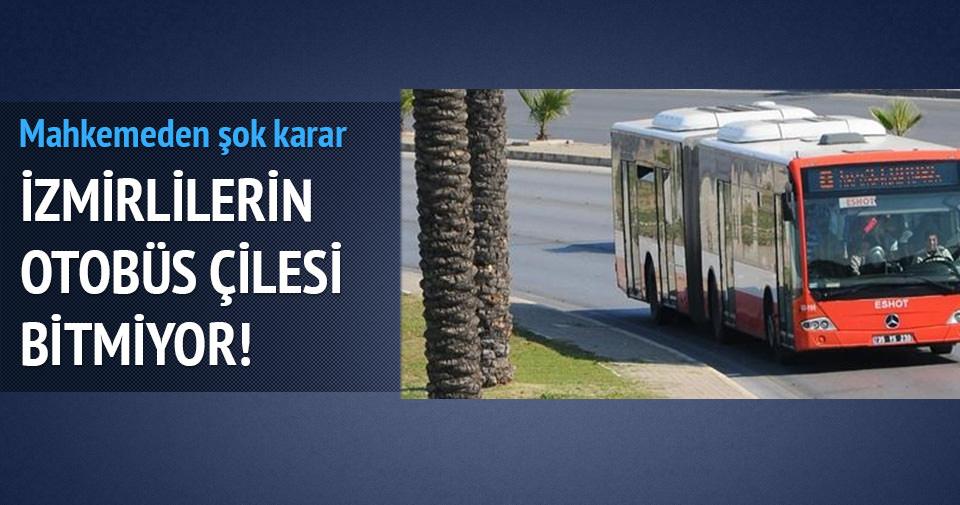 İzmir Belediye'sinin ihalesini alan firmayla ilgili mahkemeden önemli karar