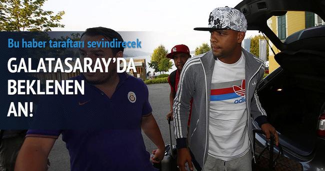 Galatasaray'da beklenen an!
