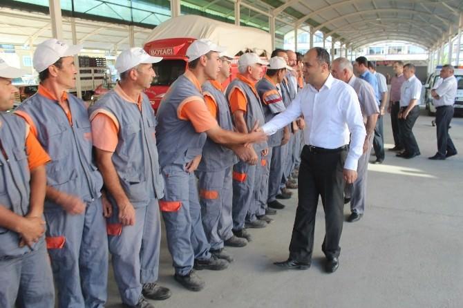 Beyşehir Belediyesi'nde Bayramlaşma Programı