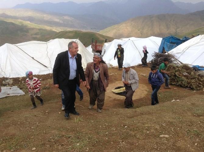 Başkan Keskin'den Yayla Ziyareti