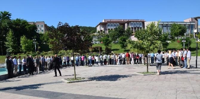 Üniversitede Bayramlaşma Töreni Yapıldı