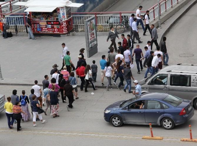 Erzurum'a İranlı Turist Akını