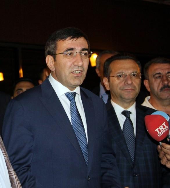 Kalkınma Bakanı Cevdet Yılmaz Diyarbakır'da