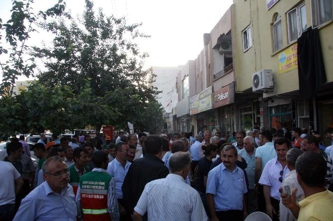 Suruç'taki Patlamanın Ardından Midyat'ta Olaylı Protesto
