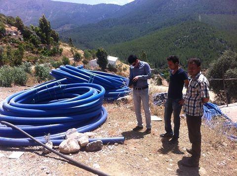 Mersin'de Sulama Suyu Tesisleri Yapımı Devam Ediyor