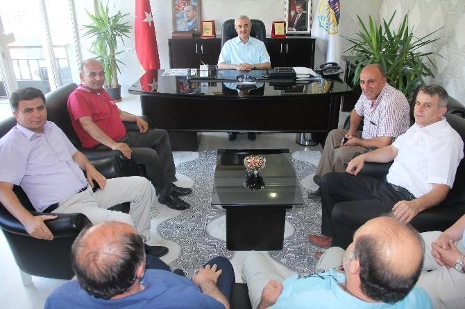 Osmancık Derneği'nden Başkan Karataş'a Ziyaret