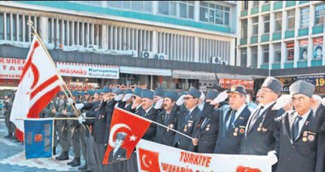 Uğrunda kan dökülen toprak Kıbrıs Türkü'nün öz vatanıdır