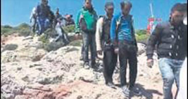 107 kaçak kurtarıldı