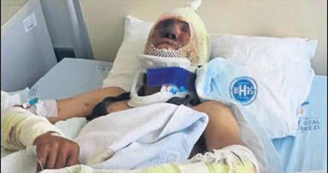 Madende patlama: Bir kişi yaralandı