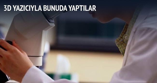 3D yazıcıyla kemik üretimi