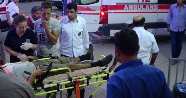 Suriye sınırında patlama yaşandı