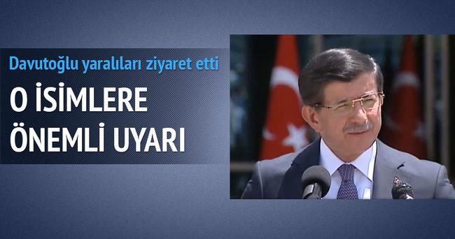Başbakan Davutoğlu'ndan kritik ziyaretler