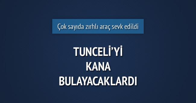 Tunceli'de yola döşenmiş el yapımı 100 kiloluk bomba bulundu