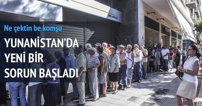 Yunanistan'da kiralık kasa korkusu