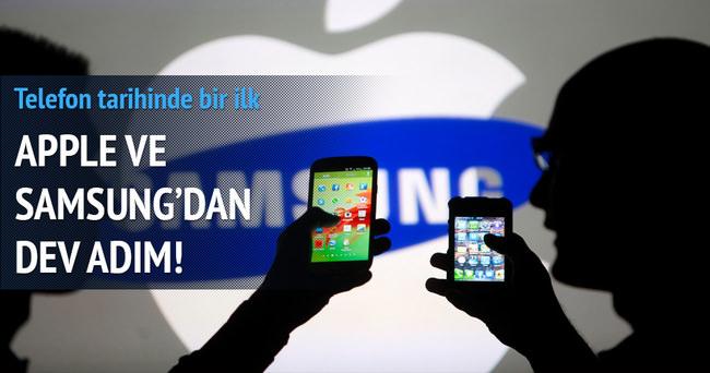 Samsung ve Apple'dan dev birliktelik adımı
