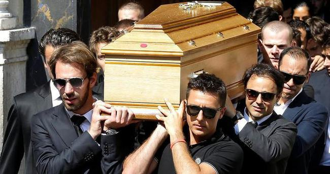 Bianchi'nin cenazesi toprağa verildi