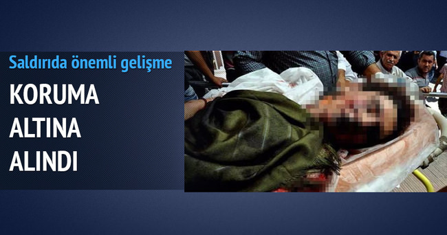 Genç kızın karnında bomba pimi bulundu