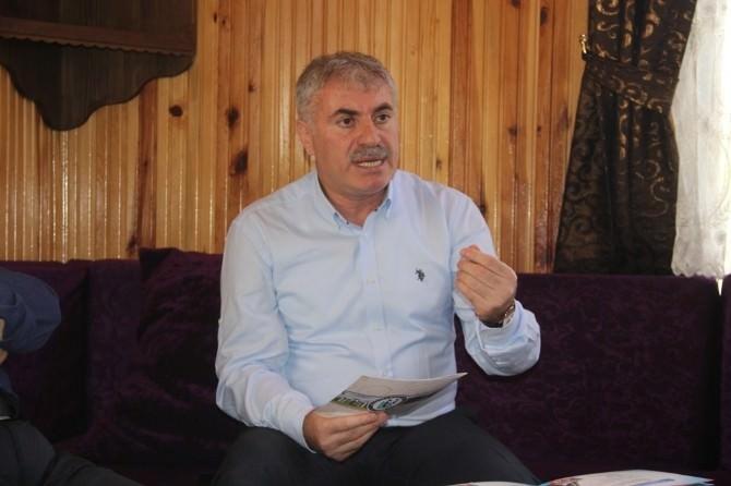 """Bayburt Belediye Başkanı Mete Memiş: """"Teröre Hak Ettiği Dille Cevabın Verilmesi Gerekir"""""""
