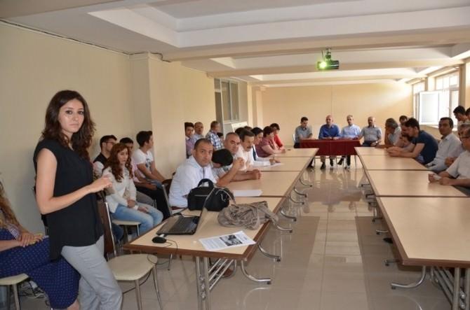 Çevre Ve Şehircilik İl Müdürlüğü Personellerine Uyuşturucu İle Mücadele Eğitimi Verildi