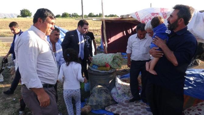 Doğanşehir Kaymakamı Irgatoğlu'ndan Mevsimlik İşçilere Ziyaret