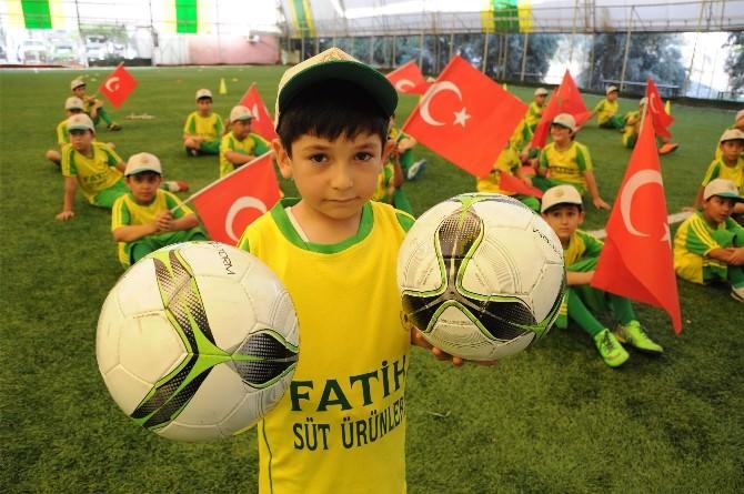Erdemlispor Yaz Spor Okulu Açtı