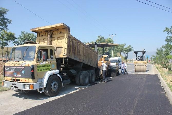 Turgutlu'da Eski Manisa Yolu Asfalta Kavuşuyor