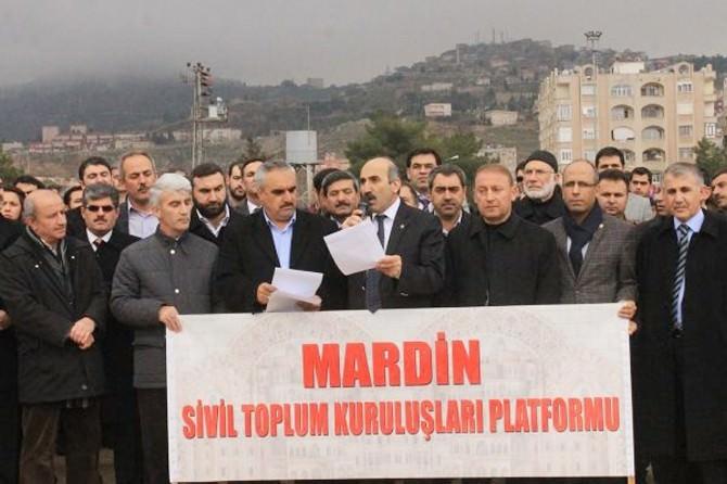 Mardin STK Platformu Suruç'taki Saldırıyı Kınadı