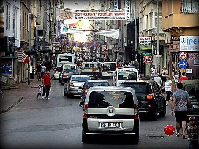 Sinop'a 5 Günde 57 Bin Araç Giriş Yaptı
