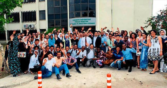 117 yabancı öğrenci ÇÜ'de Türkçe öğrendi
