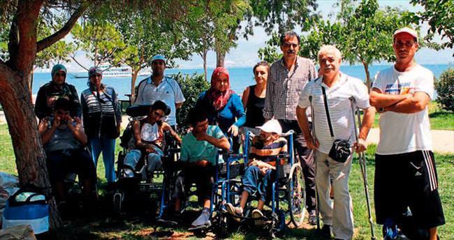 Engelli vatandaşa Yassıca Ada şoku