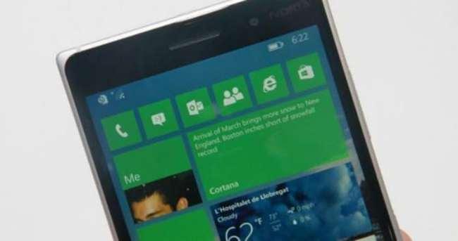 Microsof Lumia 950'nin görüntüleri sızdı