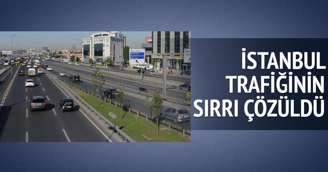 İstanbul trafiğini bitmeyen tatil rahatlattı